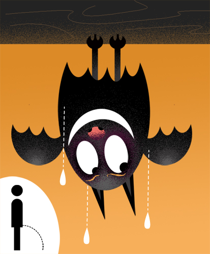 Urinating-Bat_richard-peter-david