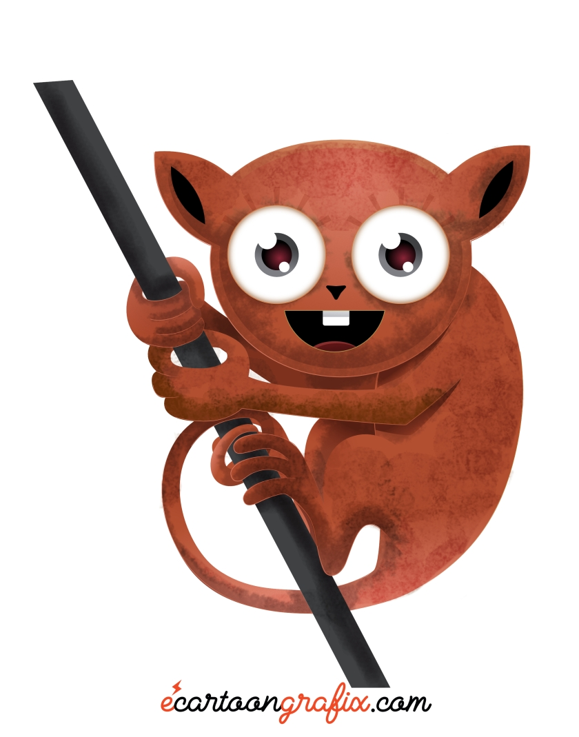 vector-tarsier_richard-peter-david-ecgfx